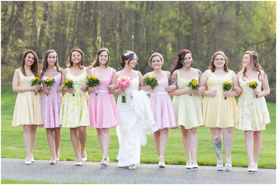 Hunt Valley Wedding Photographer - Oregon Ridge Park Bridesmaids
