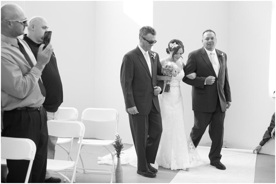 Hunt Valley Wedding Photographer - Oregon Ridge Park B&W Wedding Photo