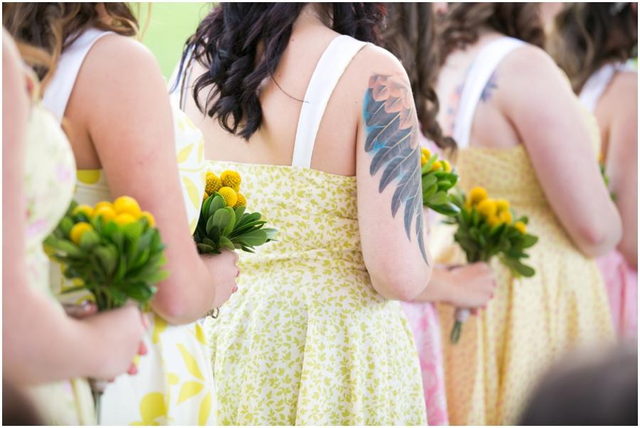 Fifty Flowers DIY Bridal Bouquet - Hunt Valley Wedding Photographer - Oregon Ridge Park