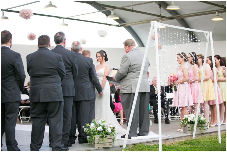 Hunt Valley Wedding - Oregon Ridge Park Wedding Ceremony