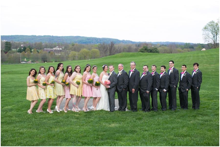 Hunt Valley Wedding Photographer - Oregon Ridge Wedding Party