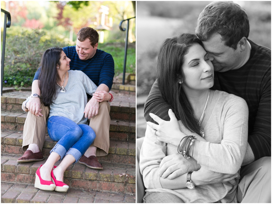 Quiet Waters Engagement Photographer - Spring Engagement Photo