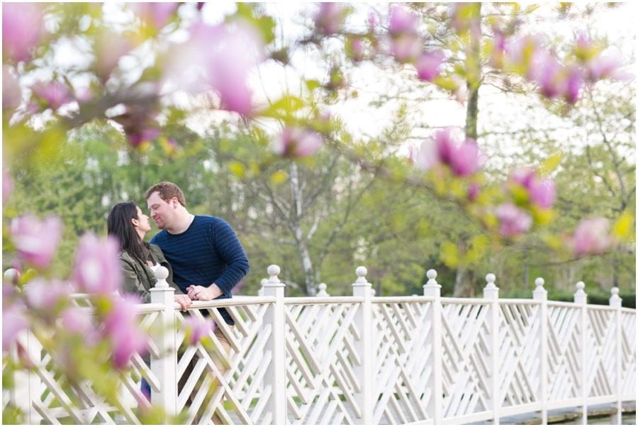 Quiet Waters Engagement Session - Spring Engagement Photo