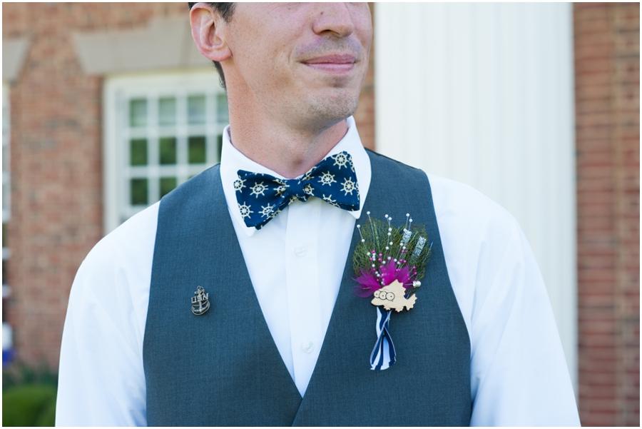 Sunset Crest Manor Wedding - Bow tie Groom