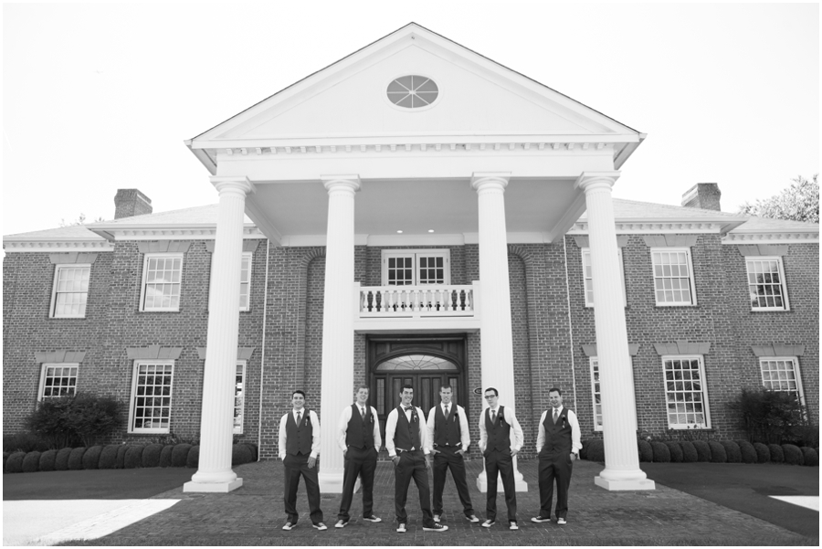 Sunset Crest Manor Wedding - Bow tie Groomsmen Portrait