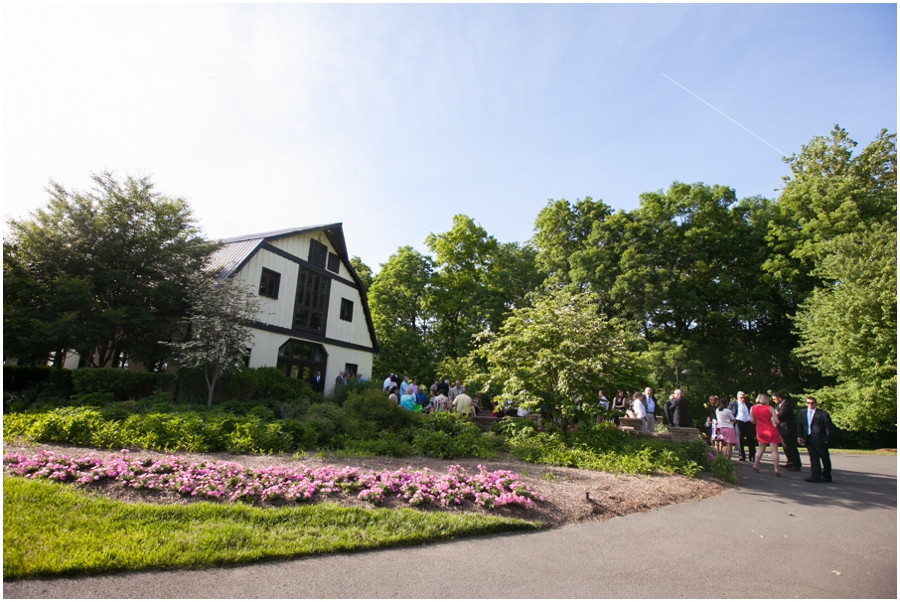 Sunset Crest Manor Ceremony - Chantilly Va Outdoor Barn Ceremony
