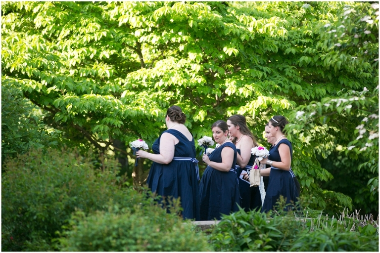 Sunset Crest Manor Ceremony - Chantilly Va Outdoor Ceremony
