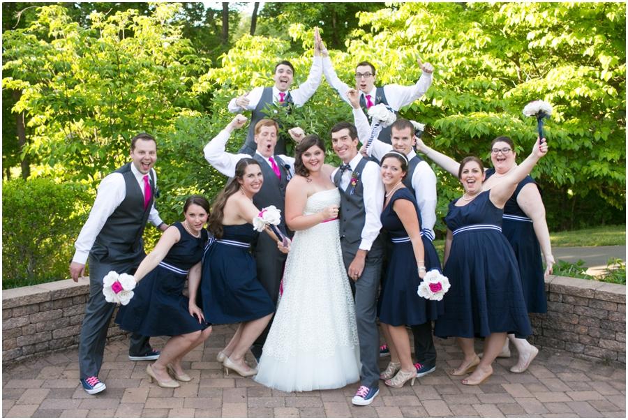Sunset Crest Manor Wedding Party - Chantilly Va Wedding Photographer