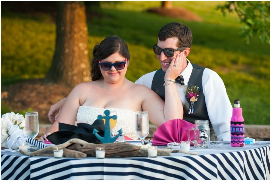 Sunset Crest Manor Spring Outdoor Toast - VA Wedding Photographer