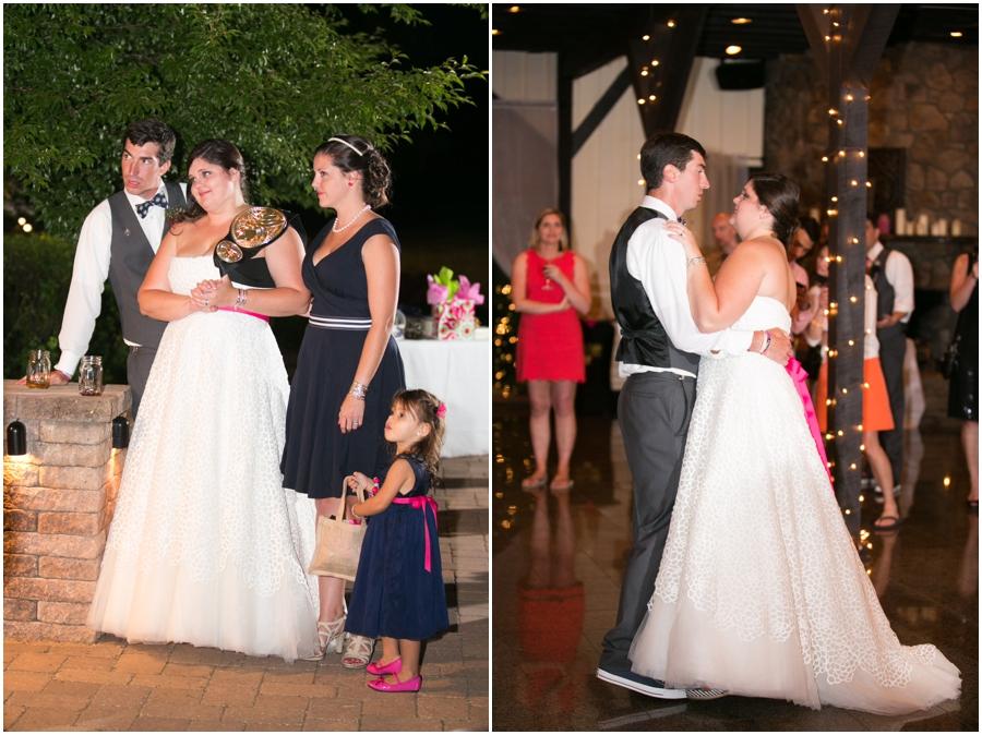 Sunset Crest Manor First Dance - VA Wedding Photographer