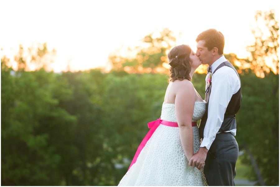 Sunset Crest Manor Sunset Wedding Photo - Chantilly Va Wedding Photographer