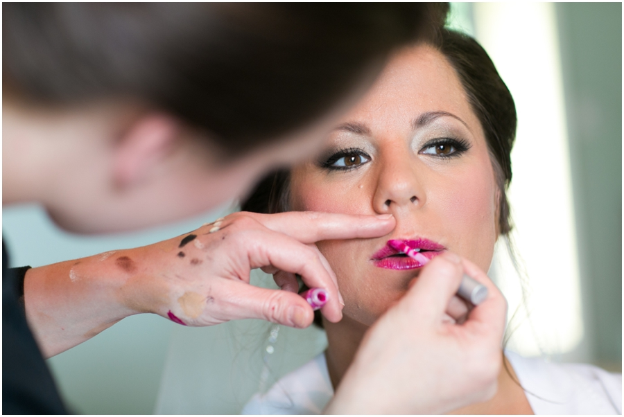 Allentown Wedding Photographer - Fawn Monique Make-up artist