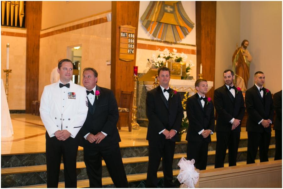 St. Francis of Assisi Church - Allentown Church Wedding Photographer