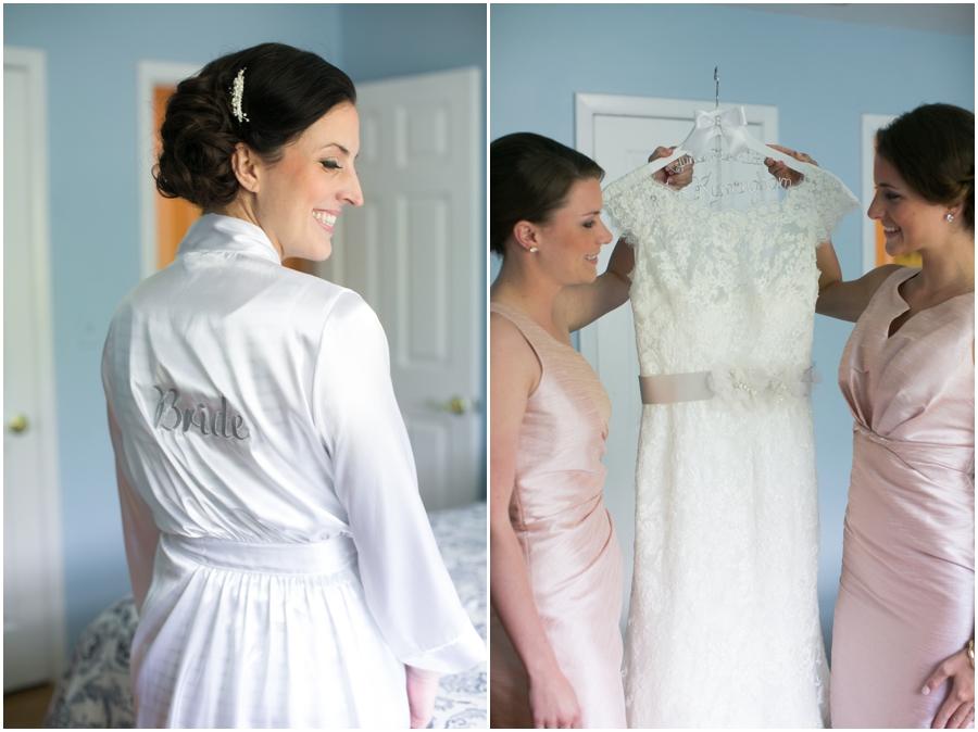 Oakland, NJ Allure Bridal Gown - Philadelphia Wedding Photographer
