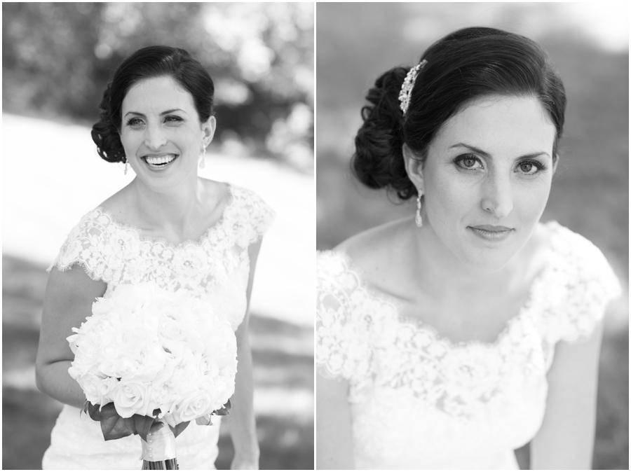 Oakland, NJ Bridal Portrait - Allure Bridal Gown