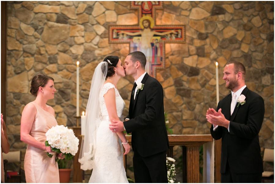 St Mary's Church Pompton Lakes Wedding Ceremony