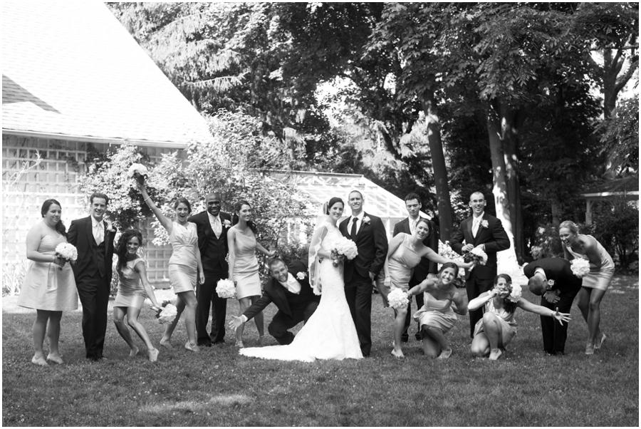 Mansion at Bretton Woods Bridal Party - Philadelphia Wedding Photographer