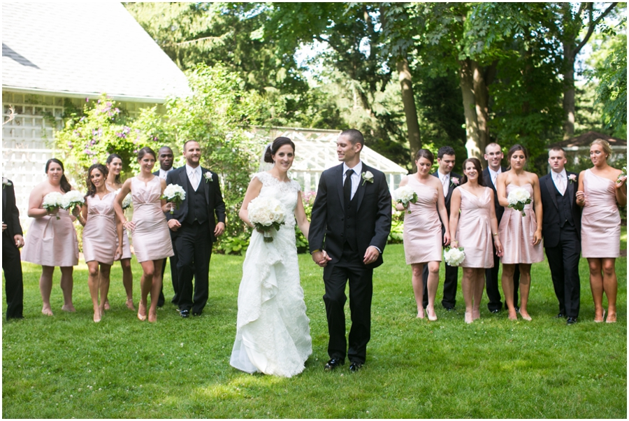 Mansion at Bretton Woods June Wedding Party - Philadelphia Wedding Photographer