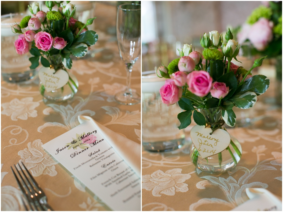 Mansion at Bretton Woods Table Details - Conroy's Florist