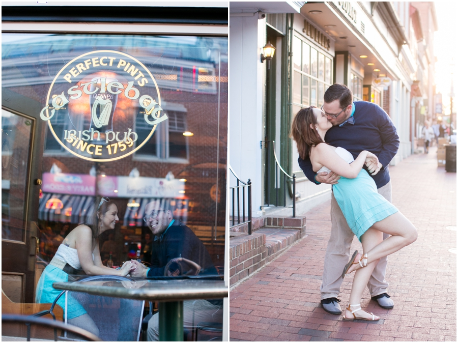 Annapolis Styled Engagement Photography