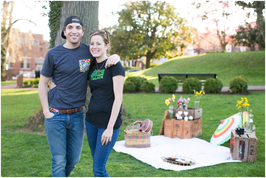XOXO Vintage Rentals - Amy & Bryan - Annapolis Styled Engagement Shoot