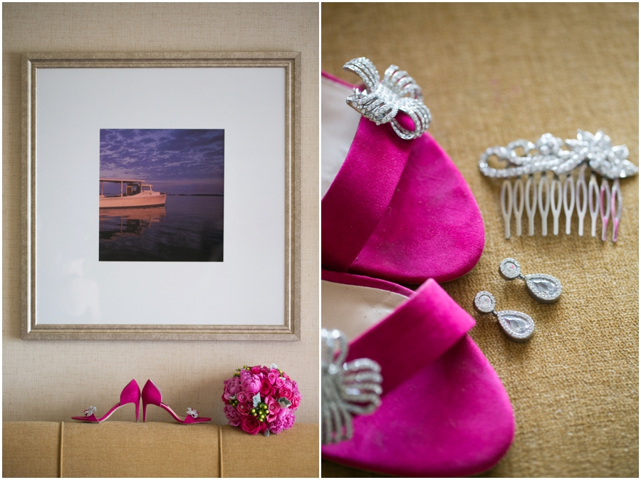 Hyatt Regency Cambridge Wedding Photographer - Destination Wedding Photographers - Zara Bridal Shoes
