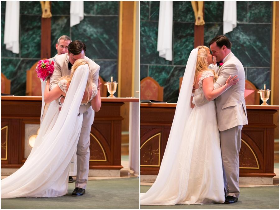 Hyatt Cambridge Wedding Photographer - Destination Wedding Ceremony - Eastern Shore Events