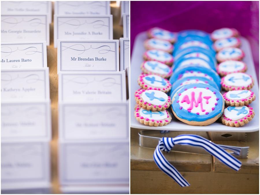 Hyatt Cambridge Resort Wedding Photographer - Favors Table - Eastern Shore Events