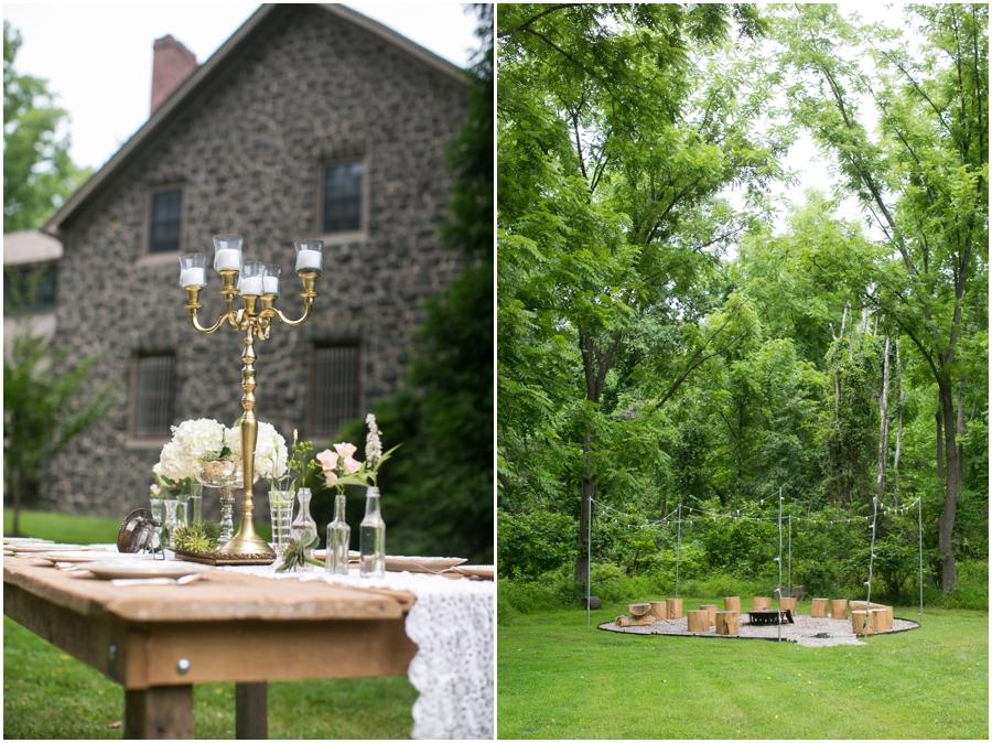 Anthony Wayne House Wedding Photographer - Philadelphia Styled Shoot
