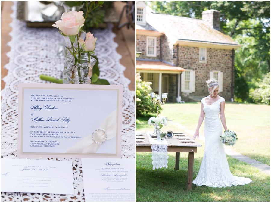 Anthony Wayne House Table Decor Inspiration - Philadelphia Wedding Photographer - Allison Barnhill Designs - 2hands Studios
