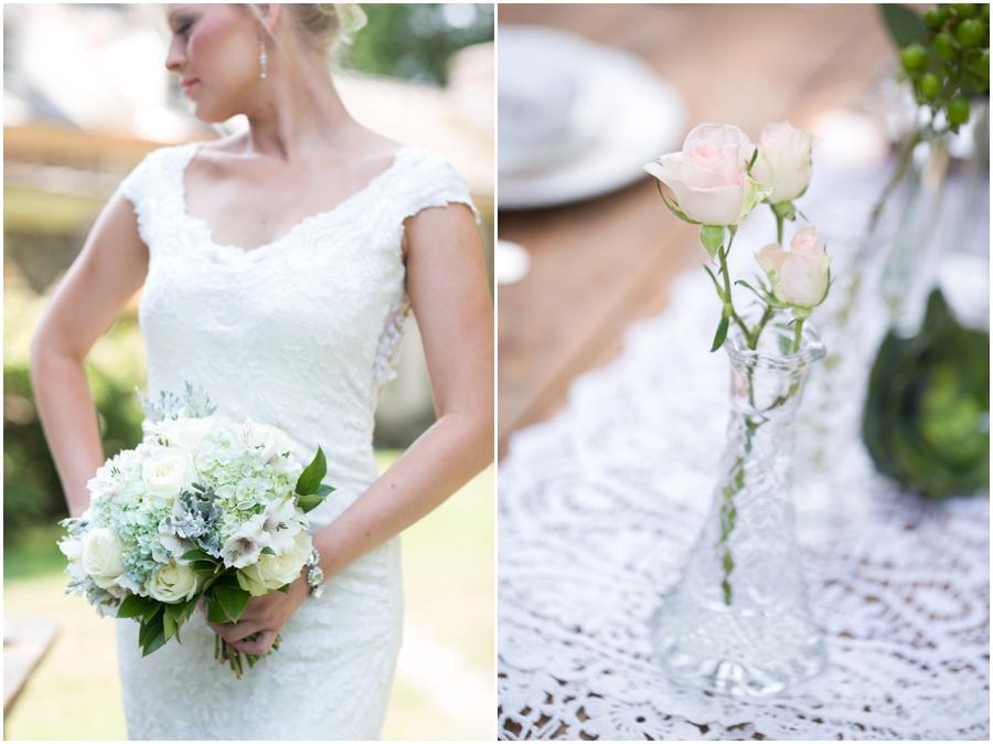 Anthony Wayne House Bridal Photographer - Philadelphia Styled Shoot