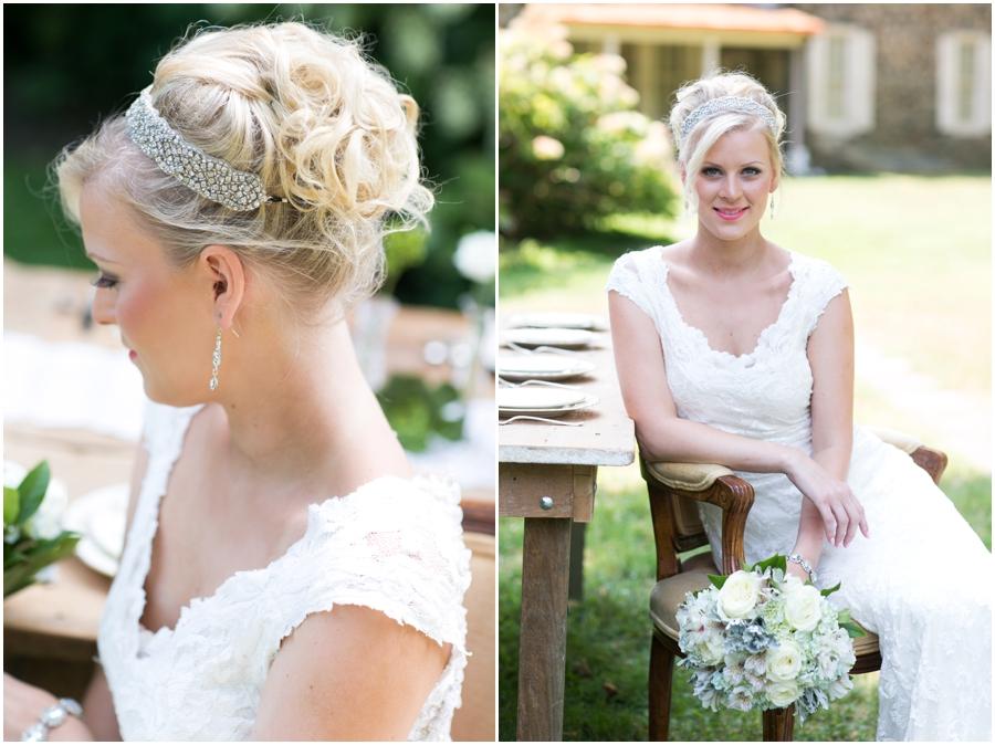 Anthony Wayne House Bridal Photographer - Philadelphia Styled Shoot - Kara Salon
