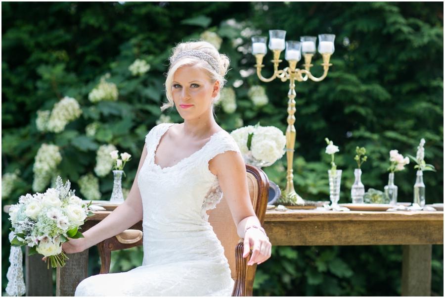 Anthony Wayne House Bridal Photographer - Philadelphia Styled Shoot - Makeup by Trish