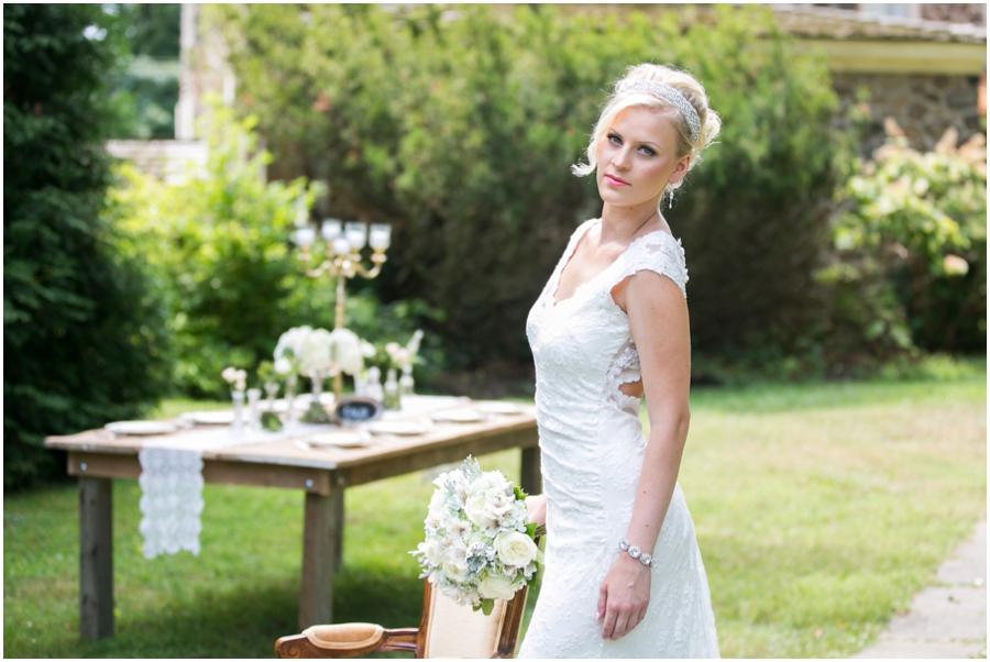 Anthony Wayne House Bridal Photographer - Philadelphia Bridal Photographer - Harleysville Bridal & Tuxedo Shoppe