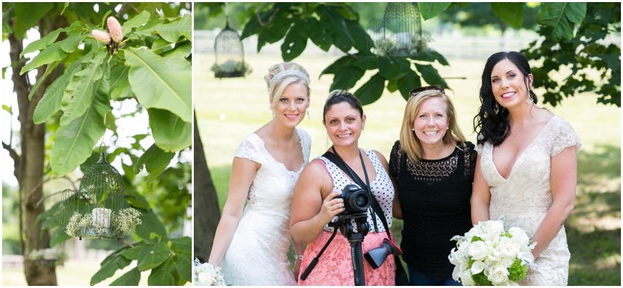 Anthony Wayne House Styled Shoot - Philadelphia Wedding Photographer - BTS