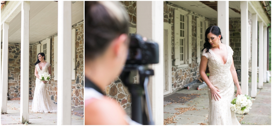 Anthony Wayne House Wedding Inspiration - Philadelphia Wedding Photographer - Danfredo Photography Video BTS