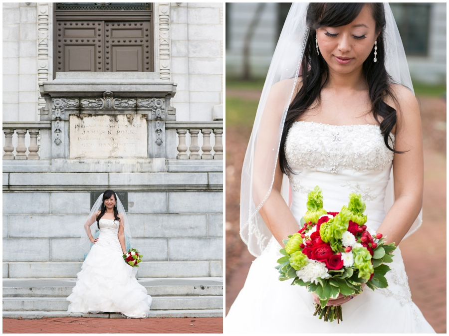 Annapolis Winter Wedding - US Naval Academy Wedding Photography