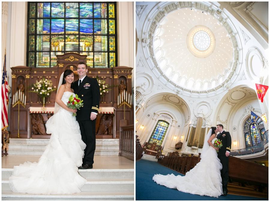 Annapolis Winter Wedding - US Naval Academy Wedding Photographer
