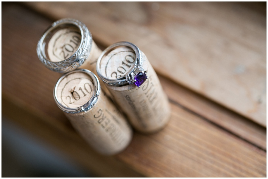 Annapolis Winter Wedding - Cafe Bretton Reception