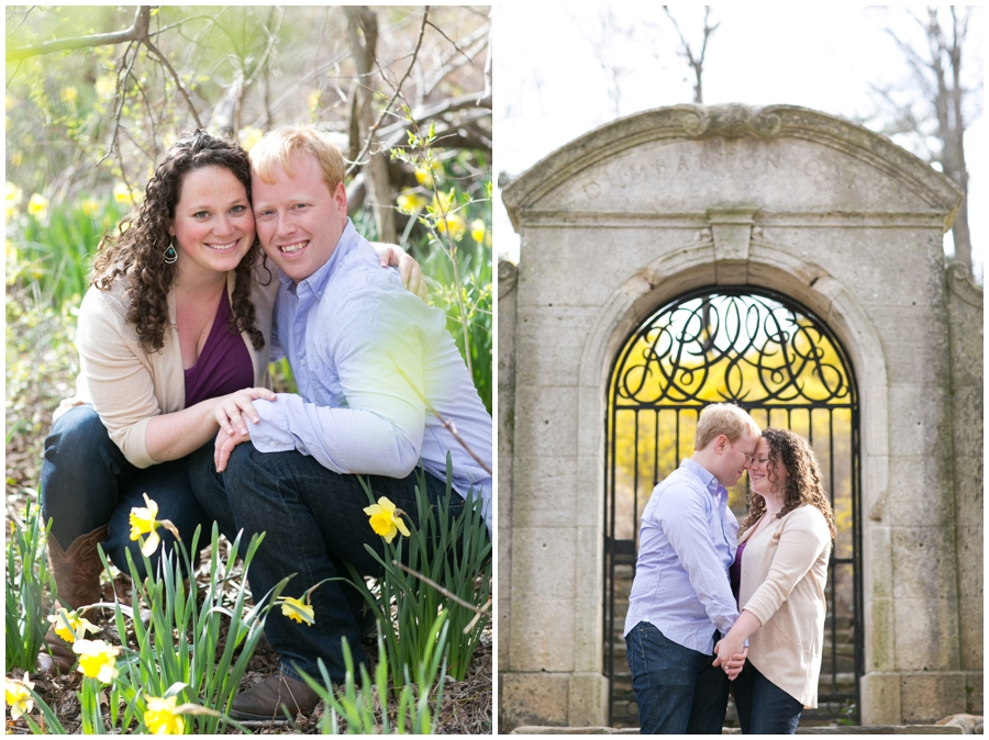 Rock Creek Garden Engagement Photographer - Elizabeth Bailey Weddings