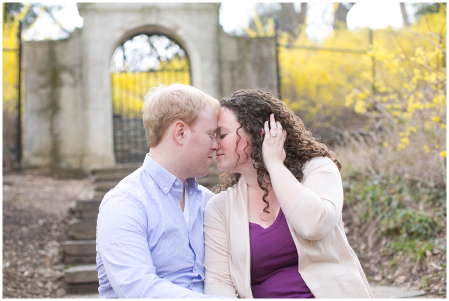 Dumbarton House Engagement Photographer - Elizabeth Bailey Weddings