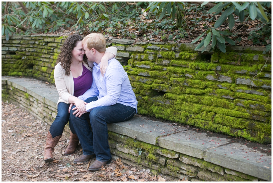 Rock Creek Engagement Photograph - Elizabeth Bailey Weddings