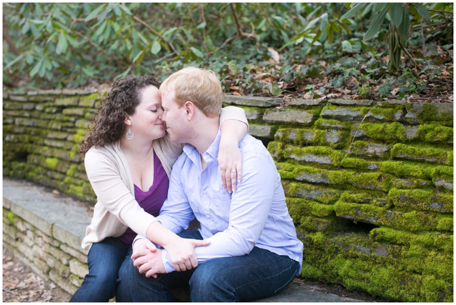 Rock Creek Engagement Session - Elizabeth Bailey Weddings
