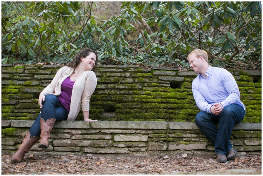Rock Creek Park Engagement Session - Elizabeth Bailey Weddings