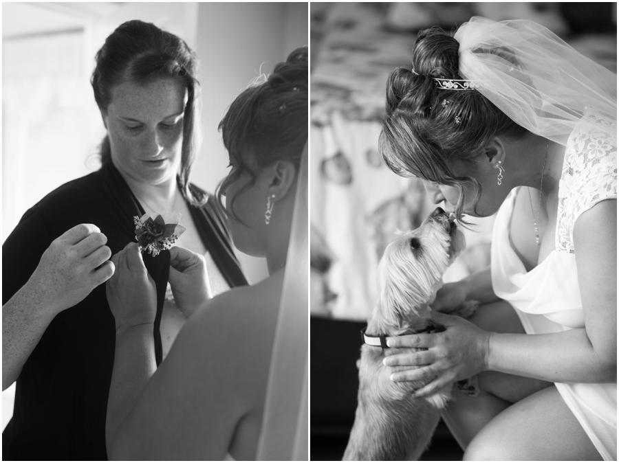 Annapolis Elopement - Waterfront Intimate Wedding Ceremony