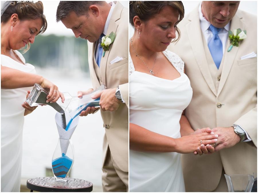 Annapolis Waterfront Intimate Wedding Ceremony