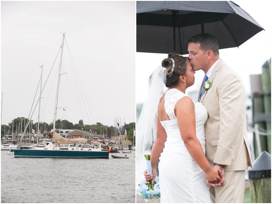 Annapolis Elopement Photographer - City Dock Wedding Photograph