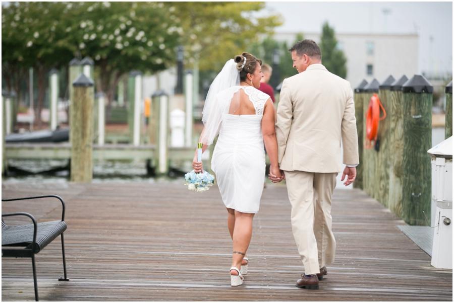 Annapolis Elopement Photography - City Dock Wedding Photograph