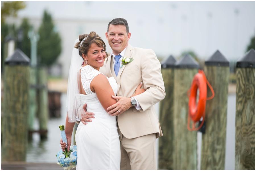 Philadelphia Elopement Photographer - City Dock Wedding Photograph