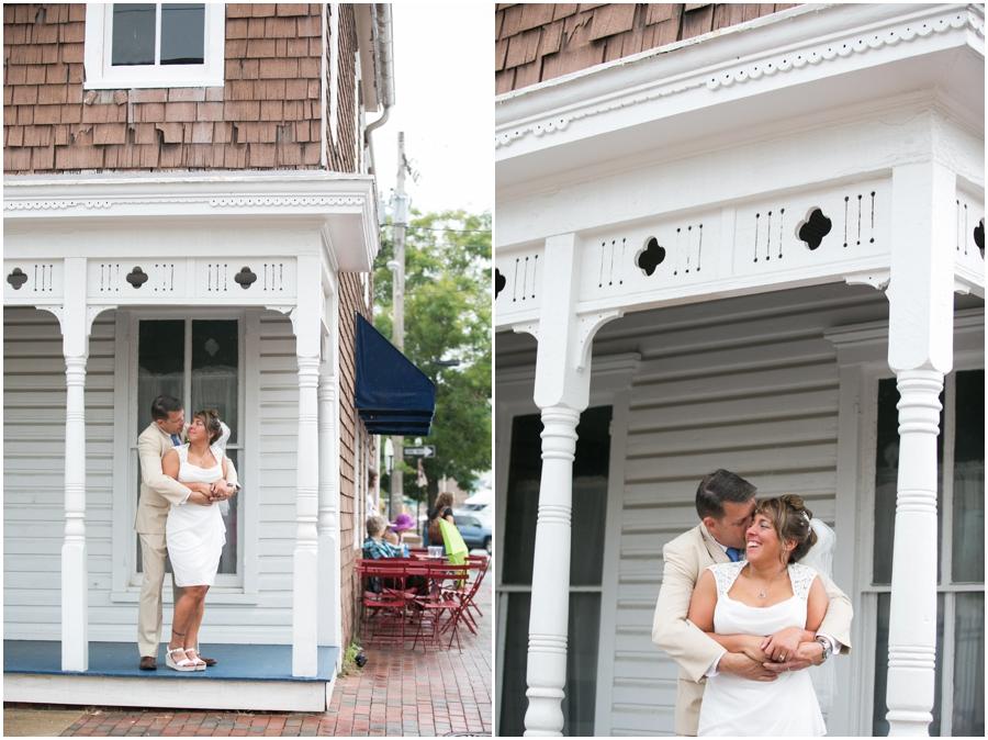 Philadelphia Elopement Photographer - Charming Navy Wedding Photograph